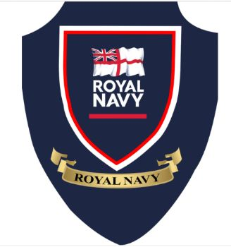 Royal Navy Plaque